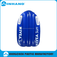 hot-selling Waterproof pvc inflatable Square air bed /kickboard/Swimming Kick Board
