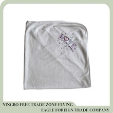 Ningbo Flying eagle high quality baby velour blanket with 20yeras experience