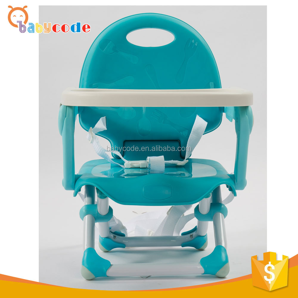 factory outdoor plastic fold sitting baby chair with carry belt