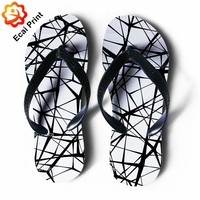 2016 best sublimation boy flip flop slippers
