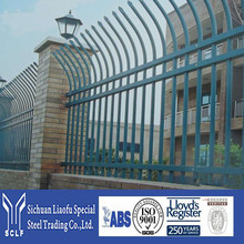 Direct Factory Price And Quality Guarantee With Steel Palisade Fence