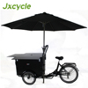 CE approved jxcycle brand mobile BBQ hot dog food bike