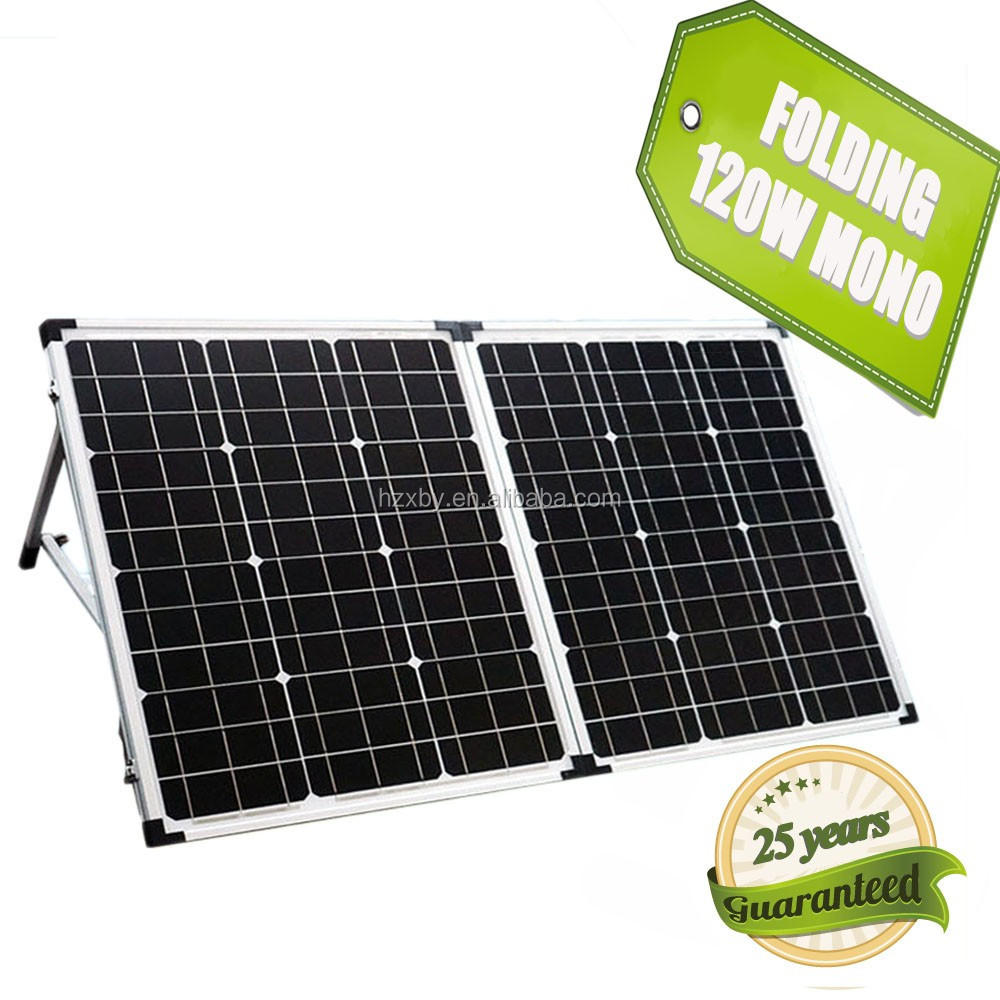 Folding Solar Pane for Campine Use Solar panel 100w 12v