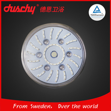 Cheap OEM 8 inch Colorful Color RGB LED Light Rain Round Top Shower Head