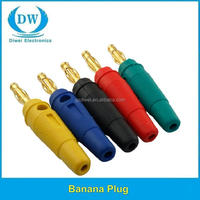 Cigarette 2mm plug for ecg banana plug