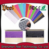 Colorful Wholesale Silicon Soft Cover Keyboard Protector for macbook Keyboard Cover for macbook Thai