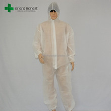 Workers uniforms disposable nonwoven fireproof overalls