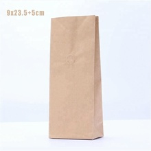 Reusable Food Pouch Customized Size Burger Bag Flat Bottom Bags