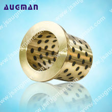 Good Quality brass drill guide bushings ,Graphite plugged Oiles Flange Bearing Bushes,electric motor bronze bushing