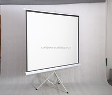 Mini tripod projector screen 72 inch size protable outdoor projecter
