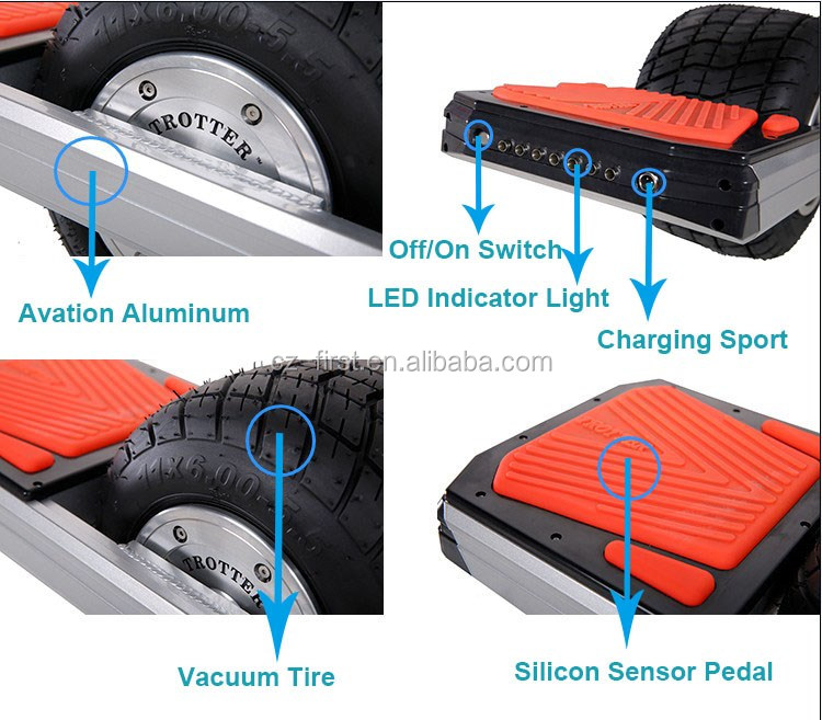 2016 Smart 10 Inch One Wheel Surfing Balance Scooter TROTTER