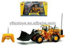 1:28 6CH RC plastic construction digger rc truck toy with sounds 8CH RC Truck for sale