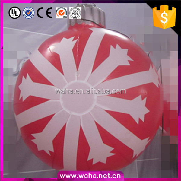 2016 Funny Inflatable Decorate Hot Selling Inflatable Christmas Ornaments