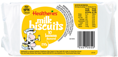 Australia Supplier Healtheries Milk Baby Biscuits With Hot Sale