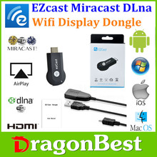 Dragonbest Hot Selling EZcast dongle Miracast DLNA Airplay Mirroring WiFi dongle chromecast factory price wireless vga miracast