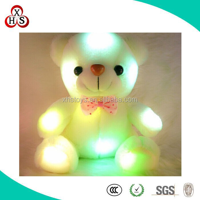 High Quality Cheap Plush Glow Toys In the Evening