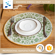 Hot selling Free Sample Printed Paper drawing hot food serving table mat