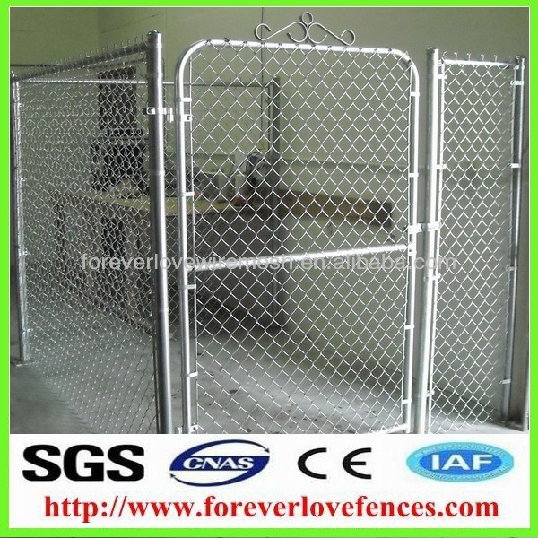 china galvanized iron gate designs(ISO9001 factory)