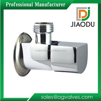 JD-6137 Chrome Plated Brass Angle Valve With Quick-Open Switch