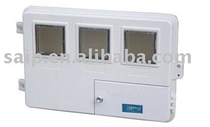 Electric meter distribution box