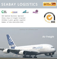 top 10 air shipping company China to new jersey