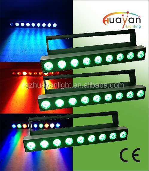 Red Green Blue White 4-colors in 1 LED Wall Washer 9*12W RGBW 4IN1 90W