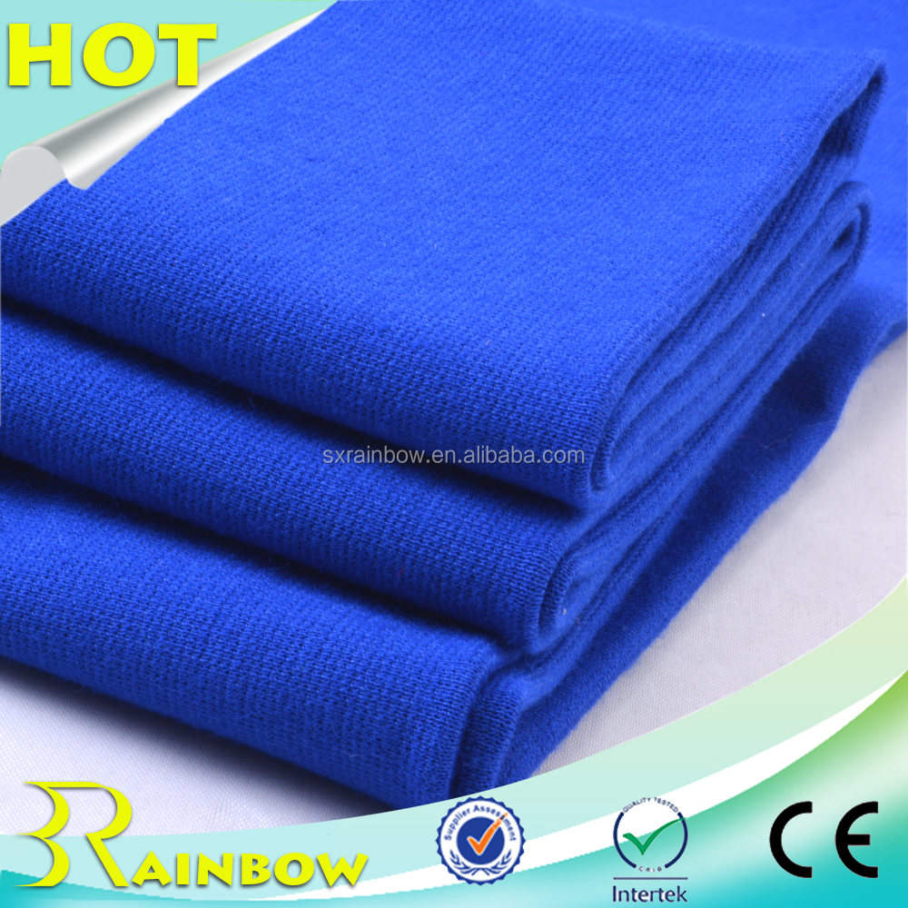 2017 High Quality Plain Dyed Poly Span Knitting Ponte Roma Fabric for Garment