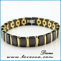 Tungsten steel black energy magnetic ion sports magnetic bio energy bracelet