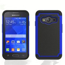 Shockproof Heavy Duty Tough Hybrid Rubber Silicone TPU Football Skin Back Cover Hard Case for Samsung Galaxy S5 Alpha