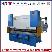 Original manufacturer WC67Y - 100 / 4000 hydraulic digital display bending machine with heavy duty iron plate