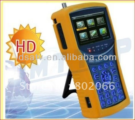 2012 free shipping HD mpeg4 DVB-S2 meter <strong>satellite</strong> ws6932 HD Analyzer <strong>Satellite</strong> Signal Finder satlink ws 6932