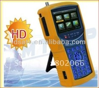 2012 free shipping HD mpeg4 DVB-S2 meter satellite ws6932 HD Analyzer Satellite Signal Finder satlink ws 6932