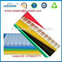 2 - 12mm PP Corrugated Plastic Sheet / PP Hollow Sheet / PP Hollow Board