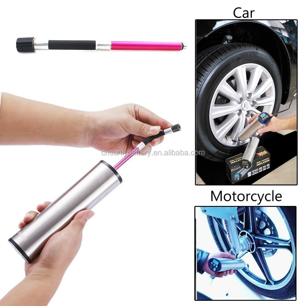manufacturer supplier mini electric inflator for bicycle balloon ball
