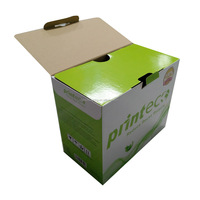 full color corrugated toner custom shipping package box