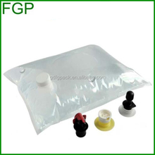 High quality with factory price for drinking water bag in box( aseptic bag) liquid bag1.5L-220L