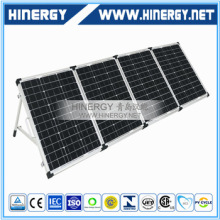 high quality monocrystalline 200w folding solar panel 80W 120W 160Wp 200 Watt 12V 200w mono portable solar panel
