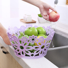 wholesale Fruit and vegetable fruit carved small storage basket