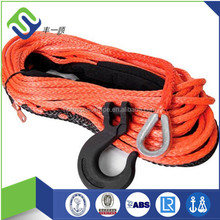 40m uhmwpe Braid Winch Rope 12 weave off-road synthetic rope