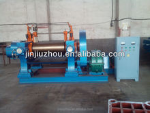 Qingdao rubber mixing mill machines and open type two roller rubber mixer