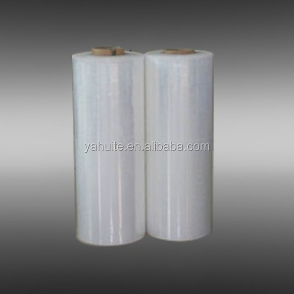 Pallet package material stretch wrapping film