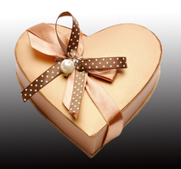 heart shape box, paper gift box