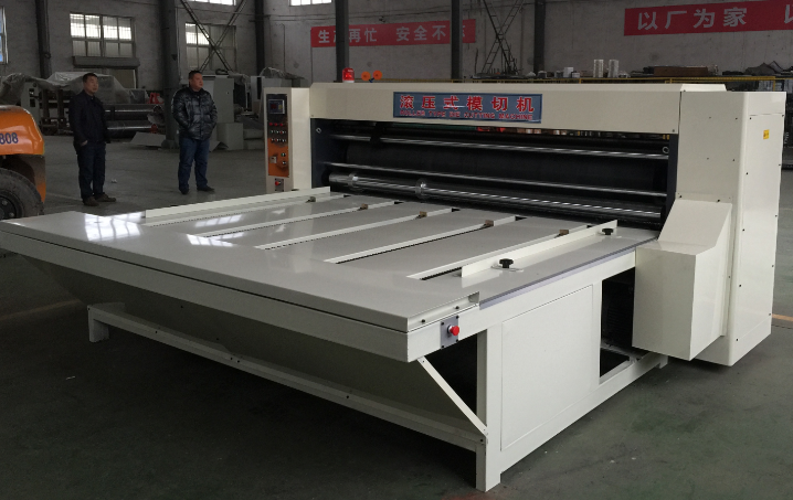 Advanced technology rotary die cutting machine corrugated boxes