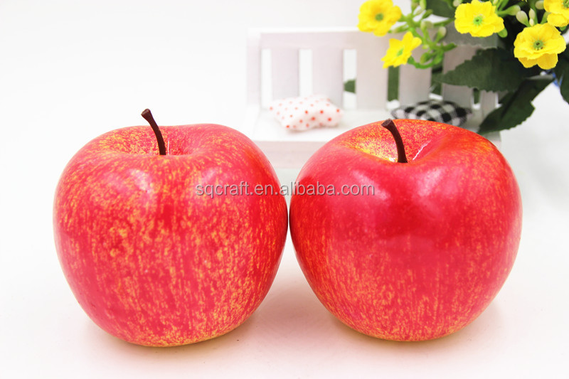 High quality artificial red apple for party decoration