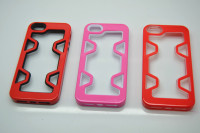 Candy Color TPU+PC Bumper Case for iPhone 5 5S, New 2 in 1 Colorful Rubber TPU Case for Apple iPhone 5 Case