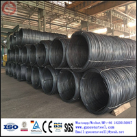 supply large quantity in stock SAE1008 SAE1018 steel wire rod for drawing wire mesh