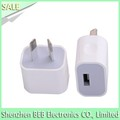 AU plug usb wall charger for samsung iphone wall charger has low cost