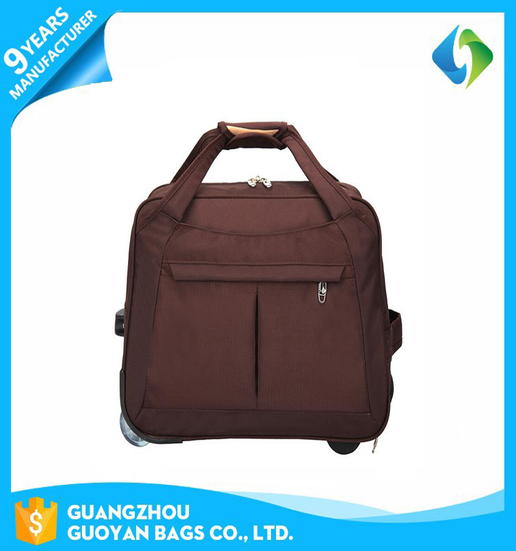 China suppliers multifunction foldable small cheap trolley travel bag