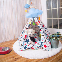 High-Quality Wholesale Oem Cotton Canvas Folding Dog Cage