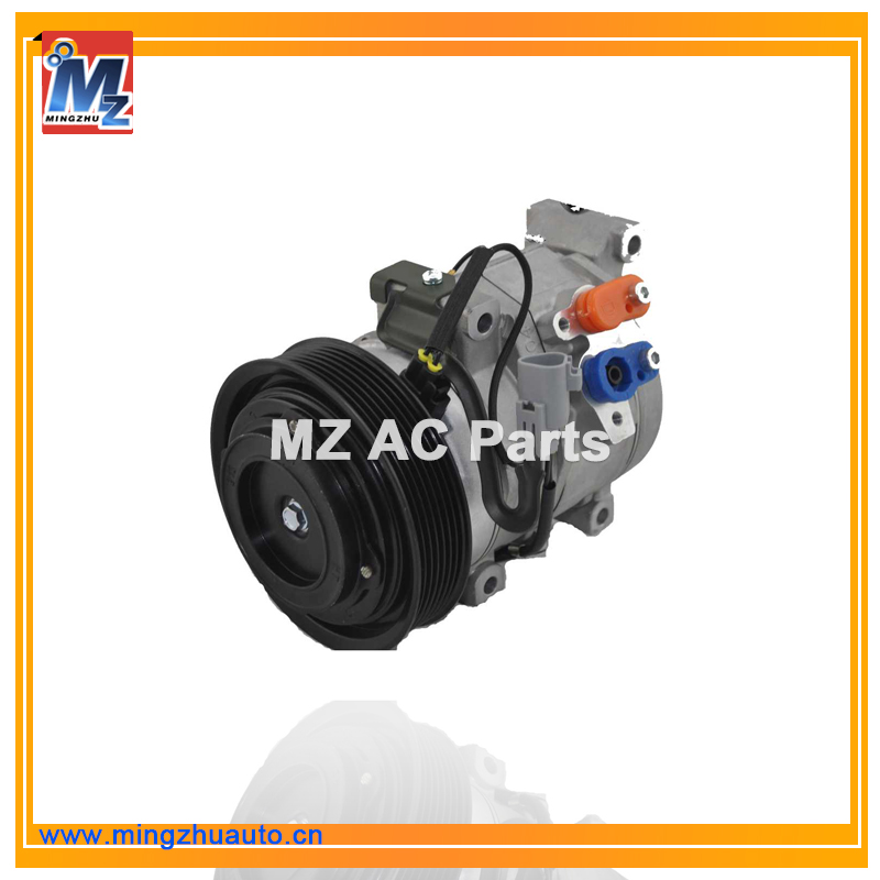 12v Electric Car AC Compressor For Toyota Corolla 10S15 140mm 8pk